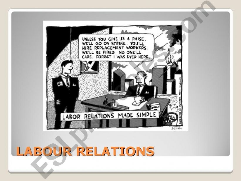Labour Relations powerpoint