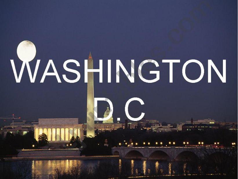 WASHINGTON D.C powerpoint
