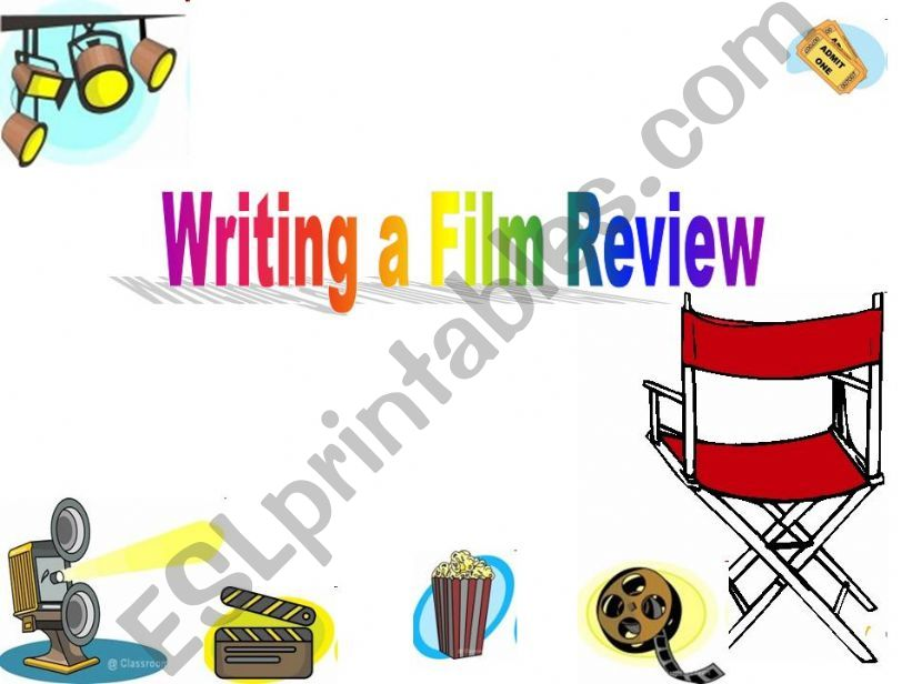 Writing a Film Review powerpoint