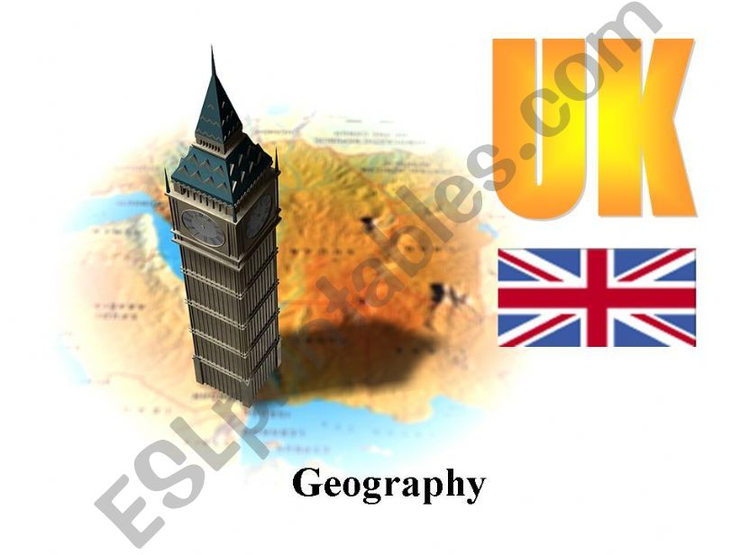 The UK (geography) powerpoint