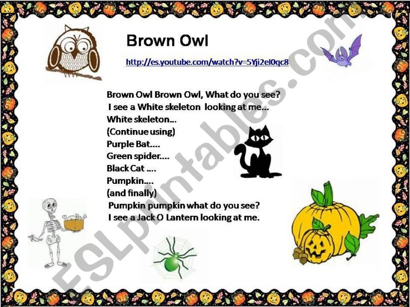 HALLOWEEN  POEMS powerpoint