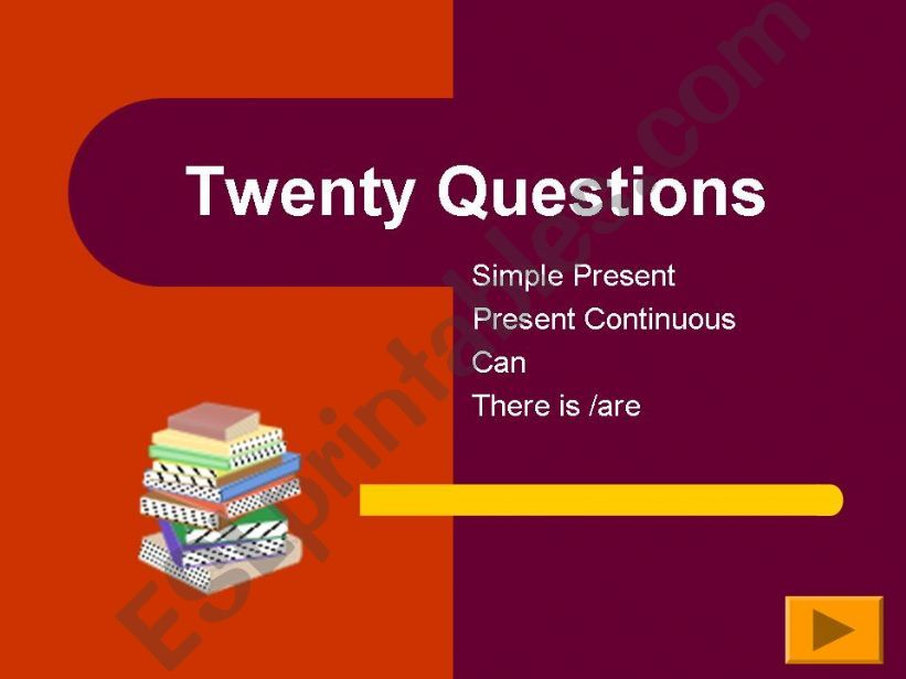20 Questions powerpoint