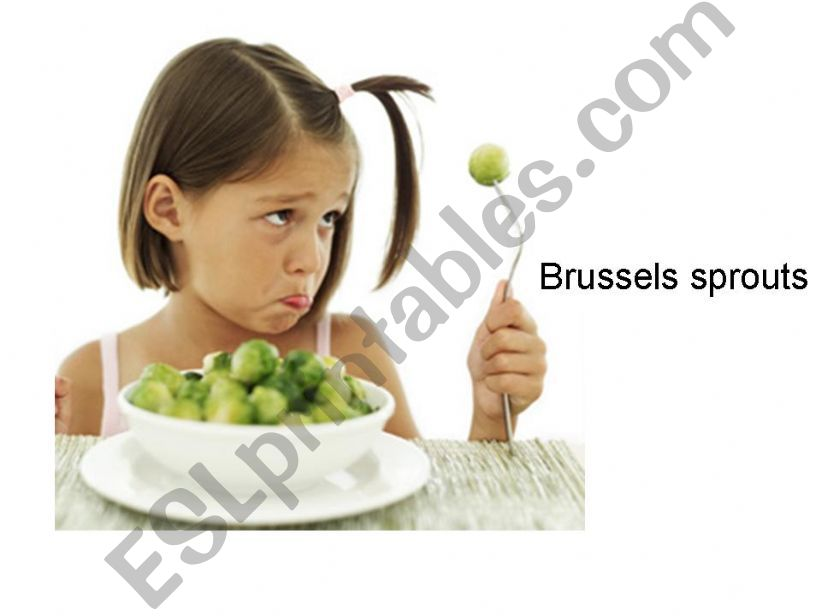 food nouns powerpoint