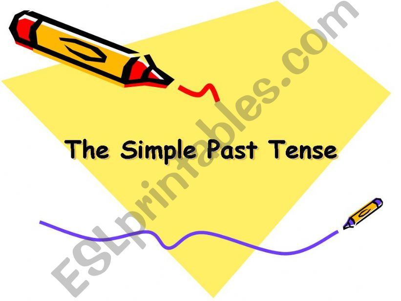 the simple past  powerpoint