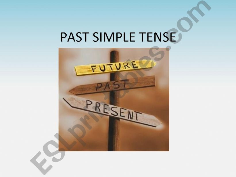 past simple tense ppt powerpoint