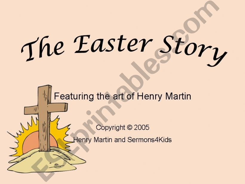 376b91577 ESL - English PowerPoints  the easter story