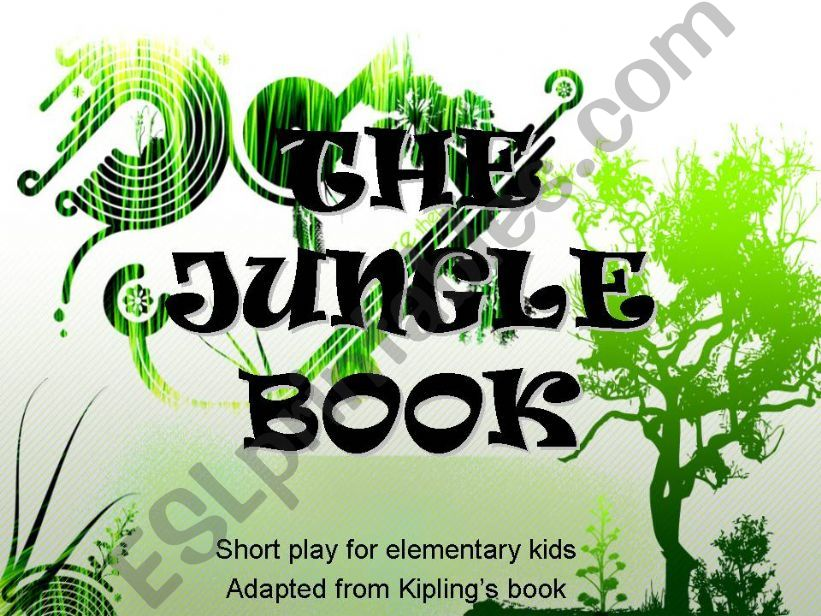THE JUNGLE BOOK - short role-play for elementary kids