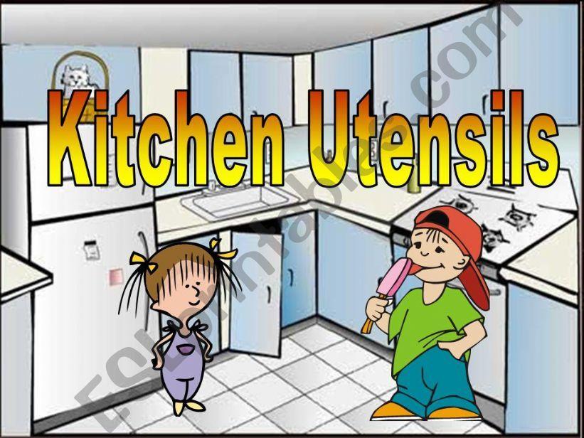 Kitchen Utensils powerpoint