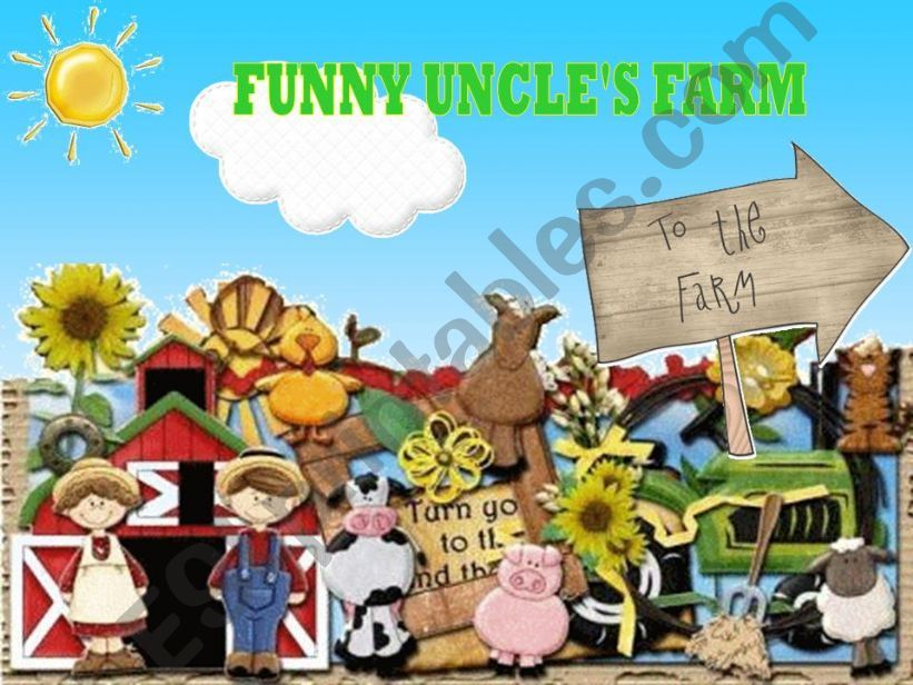 FUNNY UNCLE´S FARM (game) powerpoint