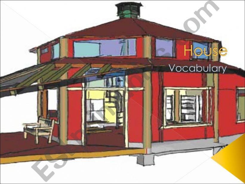 House - Vocabulary powerpoint
