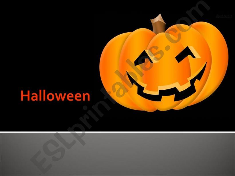 Halloween  powerpoint