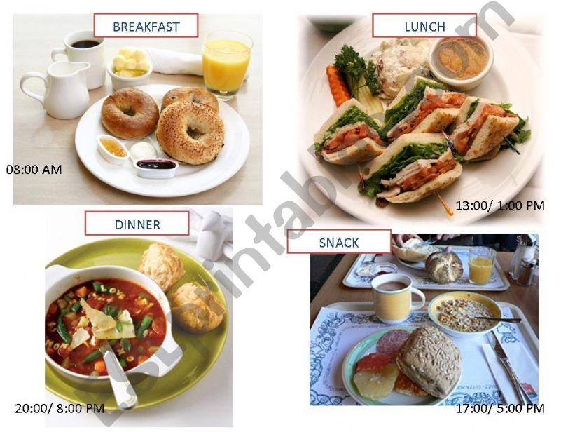 Meals powerpoint