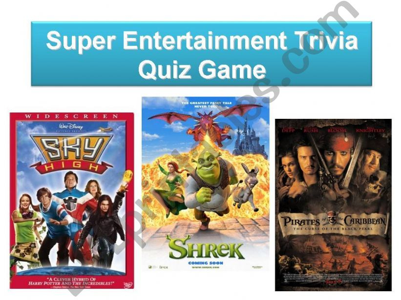 Super Entertainment Trivia - Quiz Game