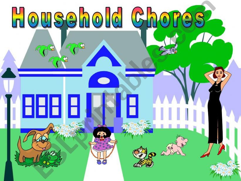 Household Chores powerpoint