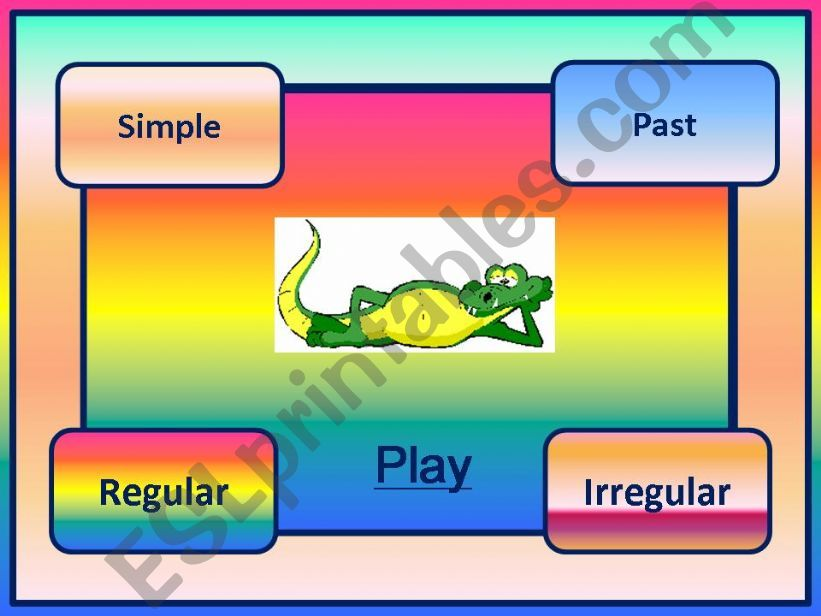 Simple past elementary powerpoint