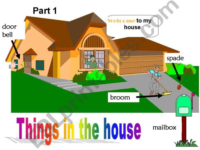 Things in the House - Part 1 powerpoint