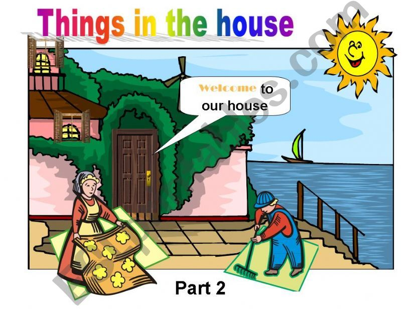 Things in the House - Part 2 powerpoint