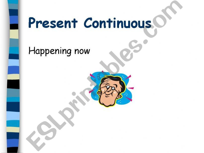 present continuous powerpoint