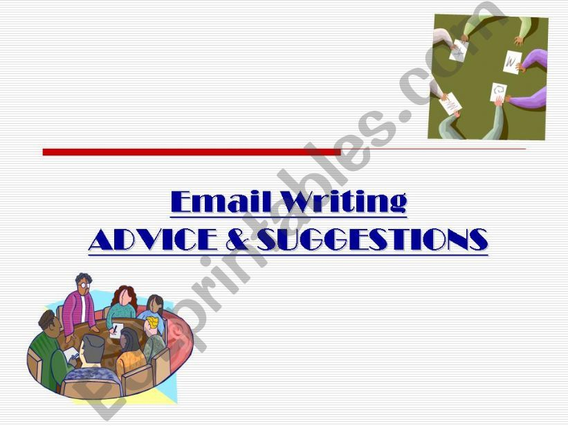 email writing - business English