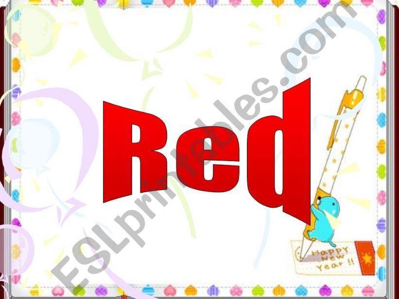 Red Color powerpoint