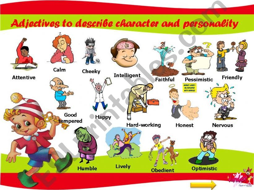 41 Adjectives to describe character and personality