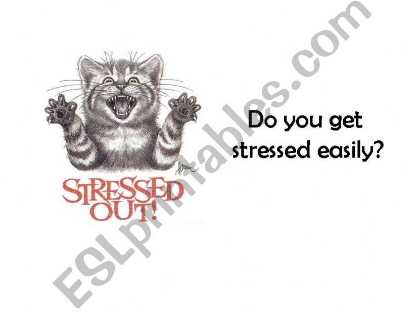 Stress! powerpoint