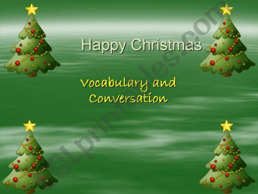 Happy Christmas powerpoint