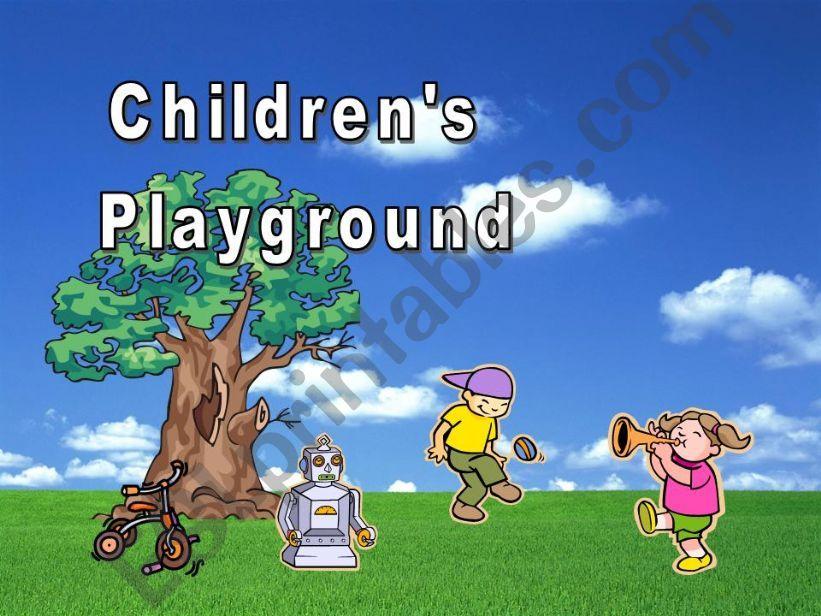 Children´s Playground powerpoint