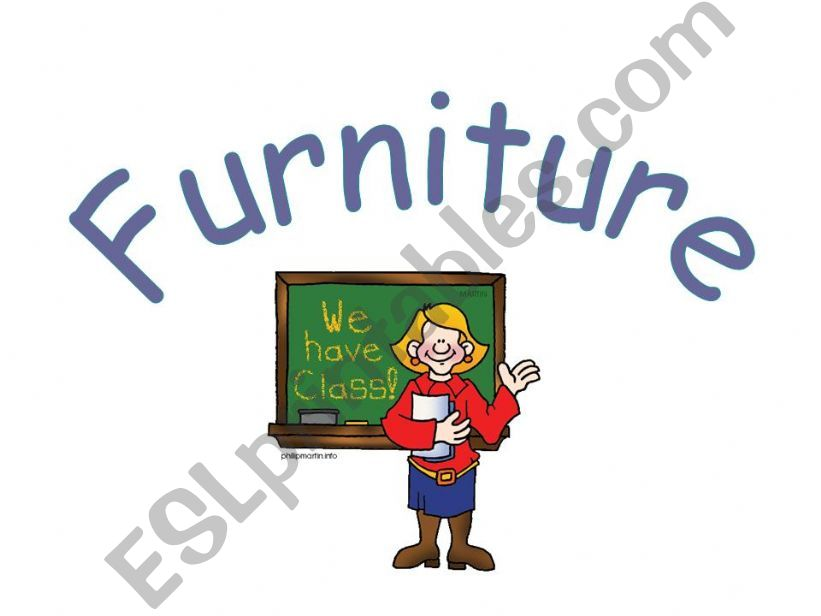 Furniture powerpoint