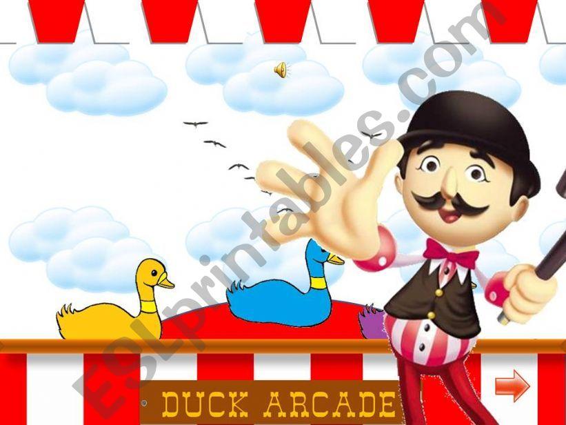 Duck Arcade powerpoint
