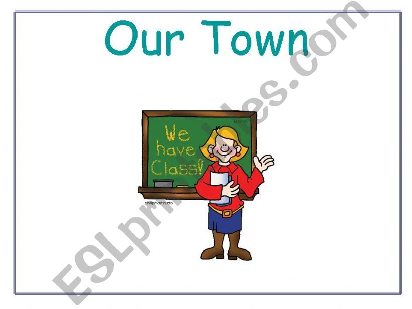 Our Town powerpoint