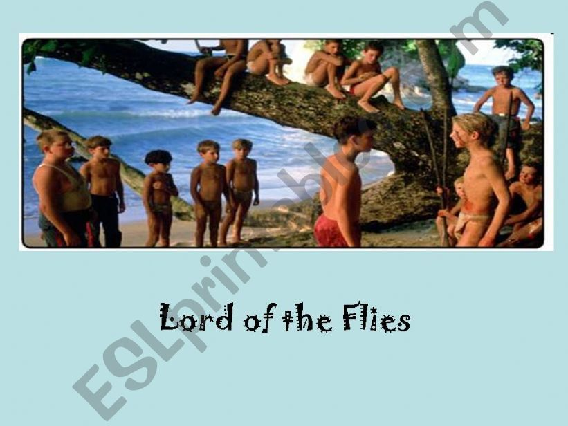 Introducing LORD OF THE FLIES powerpoint