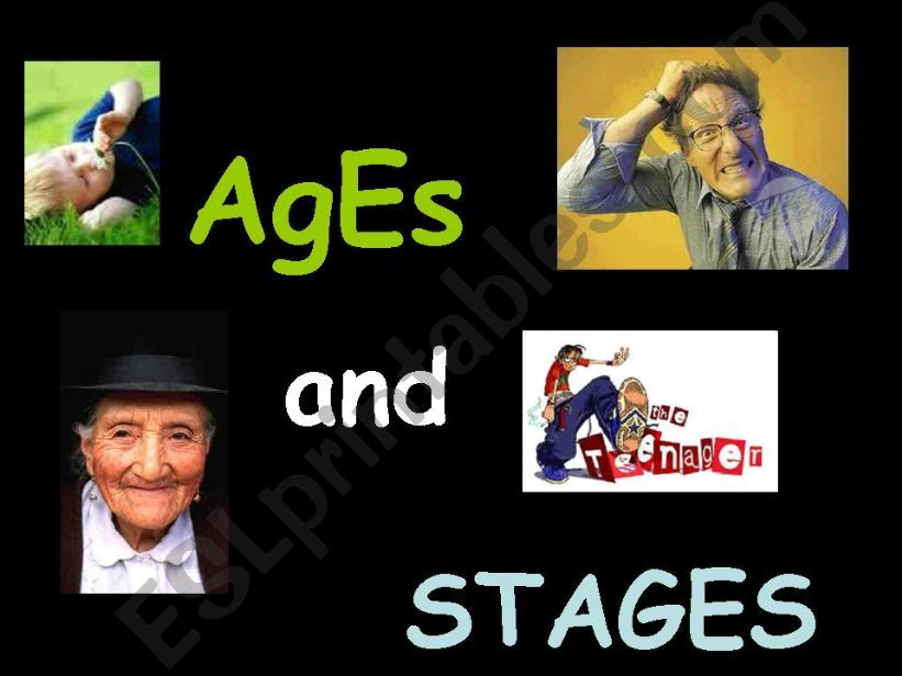 Vocabulary on life stages powerpoint