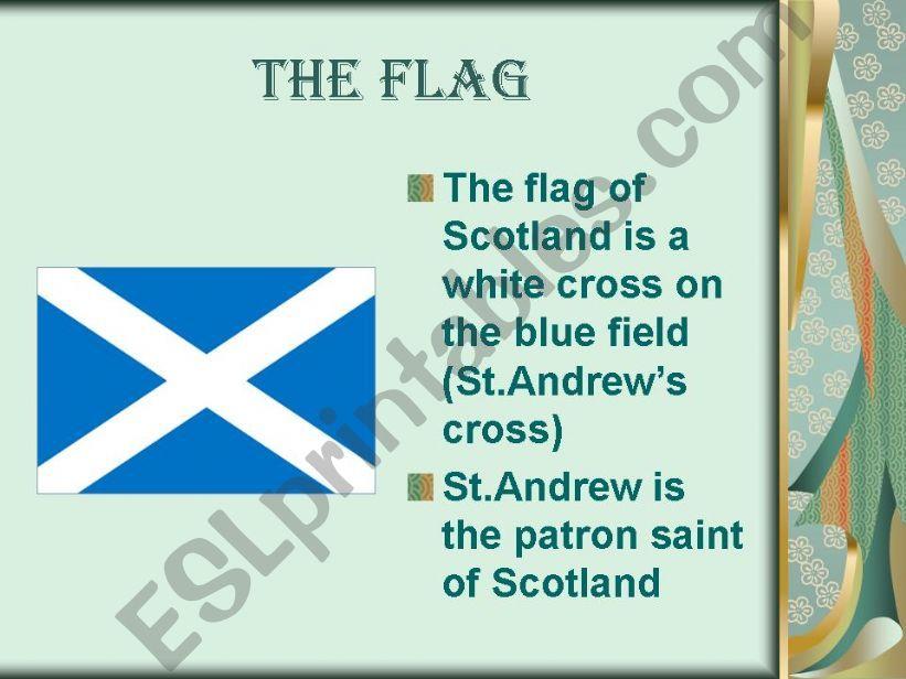 Esl English Powerpoints The Symbols Of Scotland
