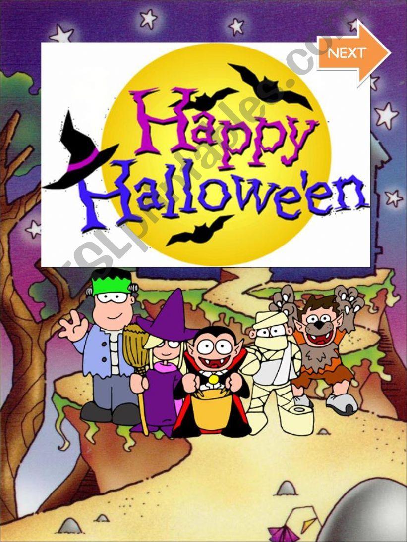 Happy Halloween. Who am I? powerpoint