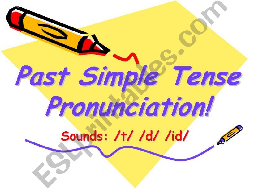 -ED PRONUNCIATION powerpoint