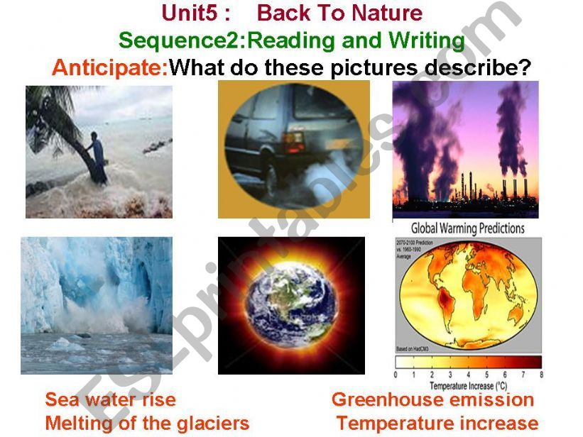 back to nature powerpoint