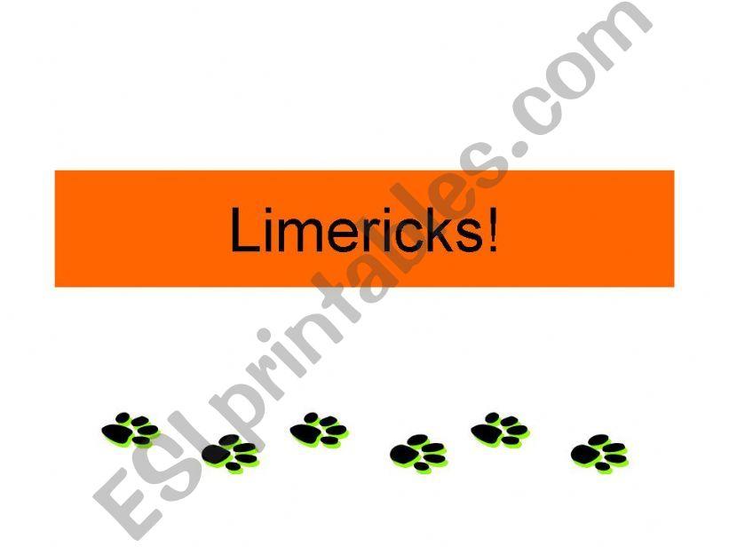 Limericks powerpoint
