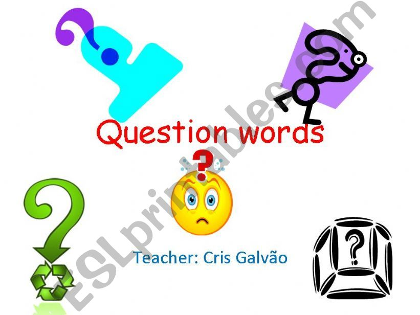 Question words with simple present explanation