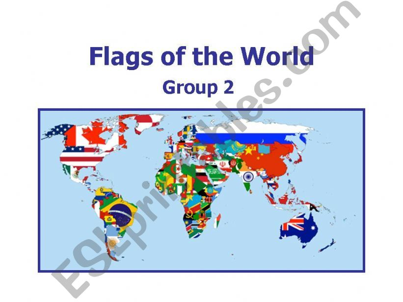 World Flags 2 powerpoint