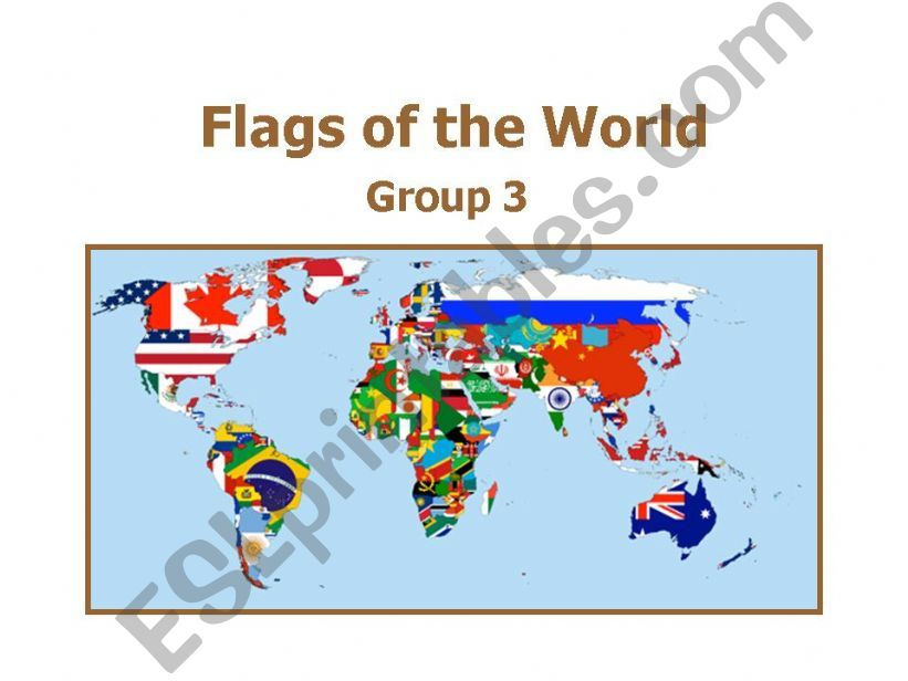 World Flags 3 powerpoint