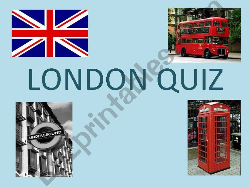 London quiz powerpoint