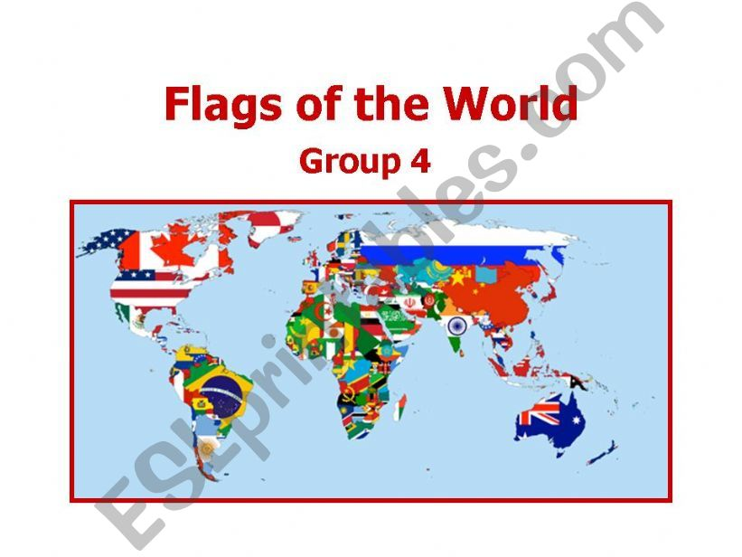 World Flags 4 powerpoint