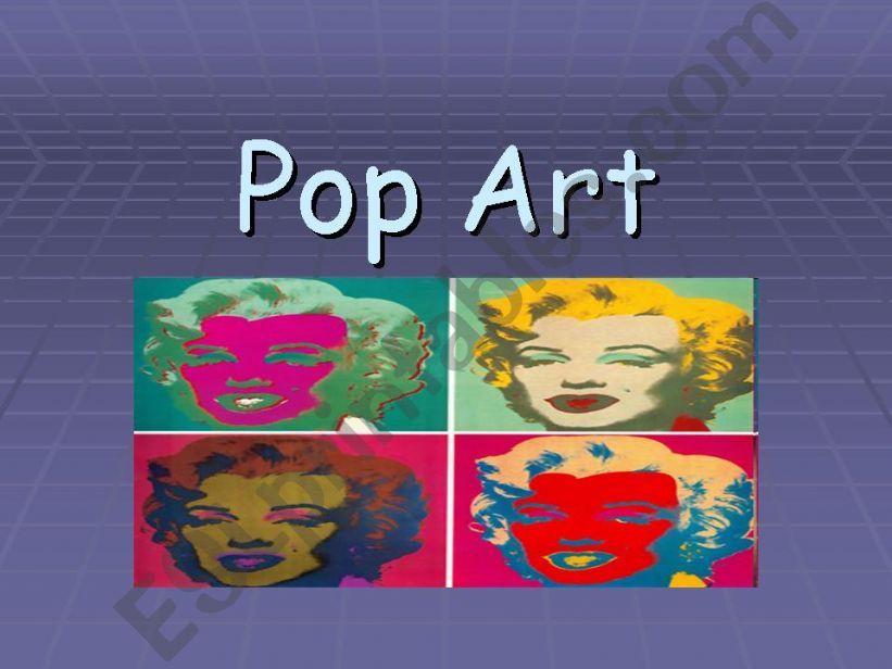 Pop Art powerpoint powerpoint