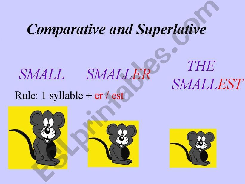 Comparisons powerpoint
