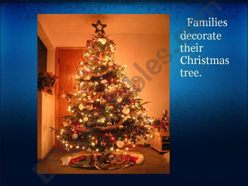 Christmas traditions in Great Britain (II)