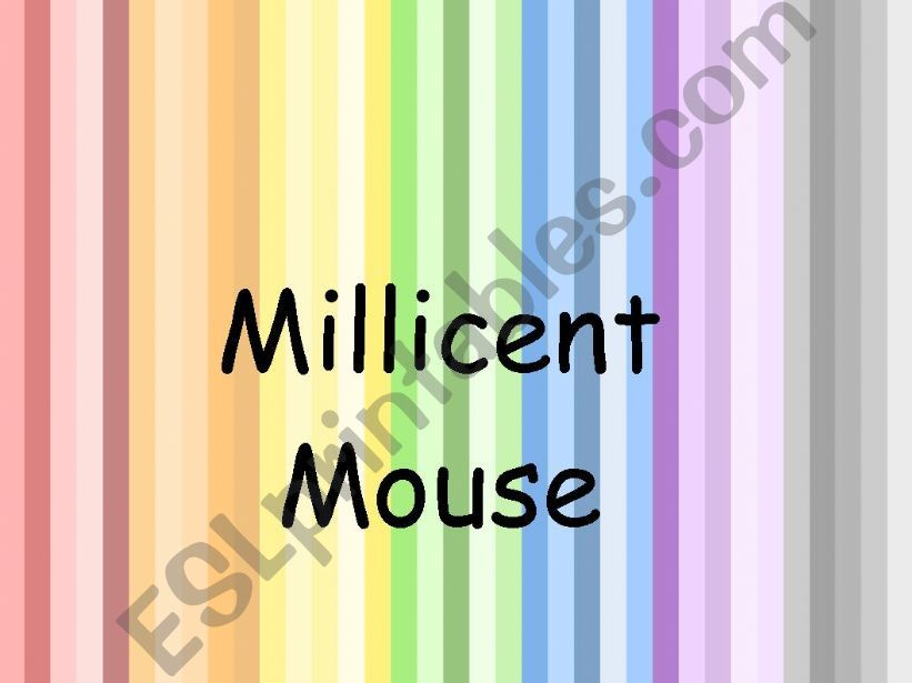 Millicent Mouse powerpoint