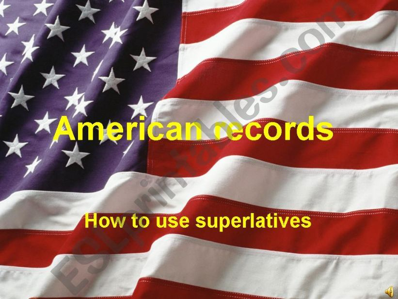 American records powerpoint