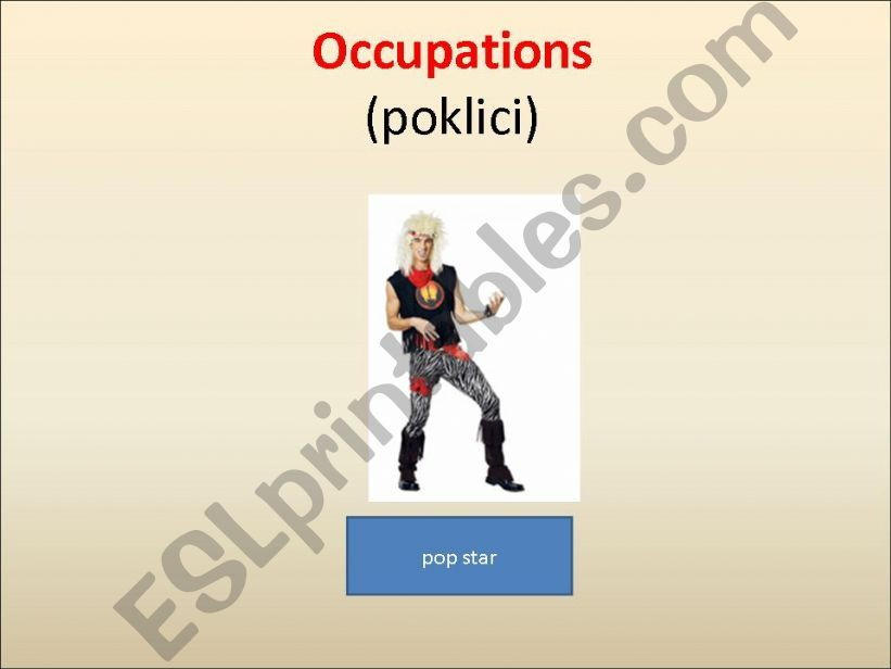 Occupations powerpoint