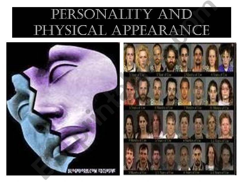 Personality and Physical Appearance